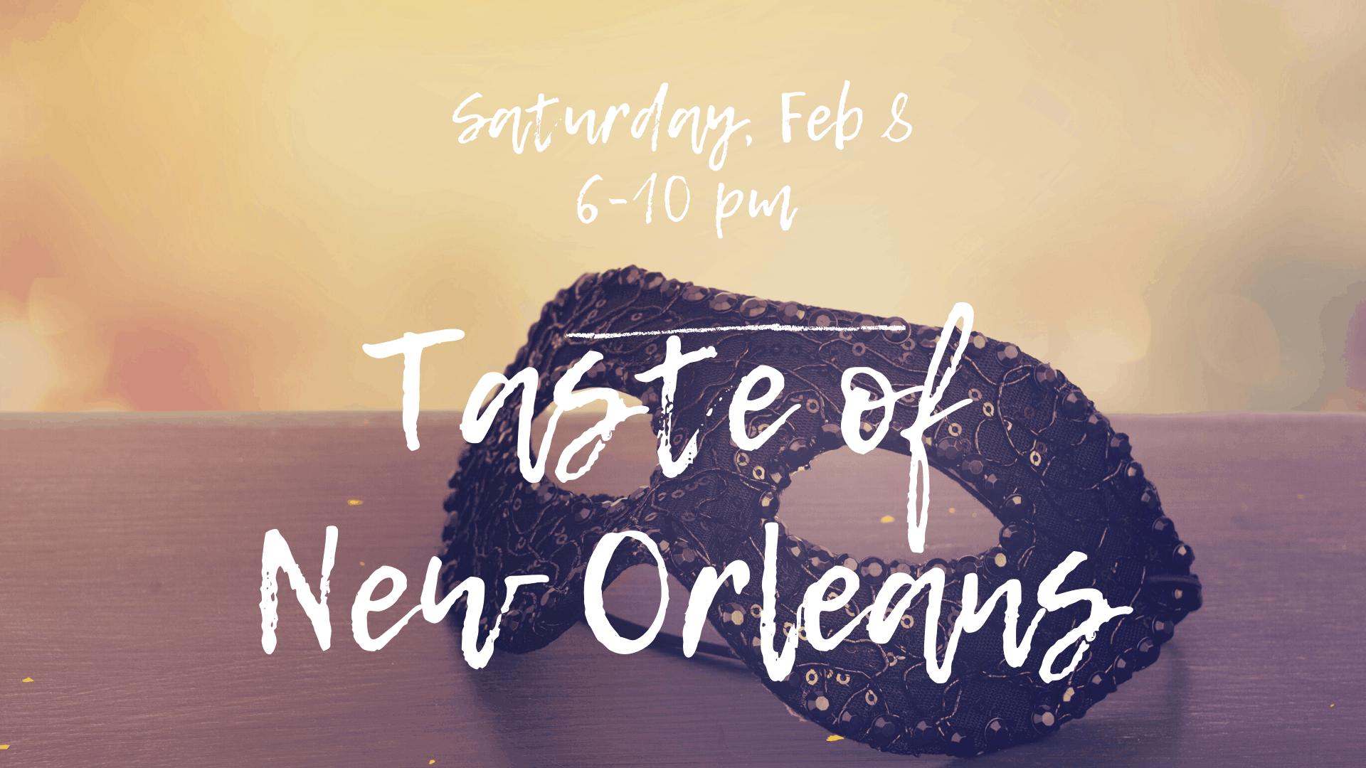 Taste of New Orleans 2020