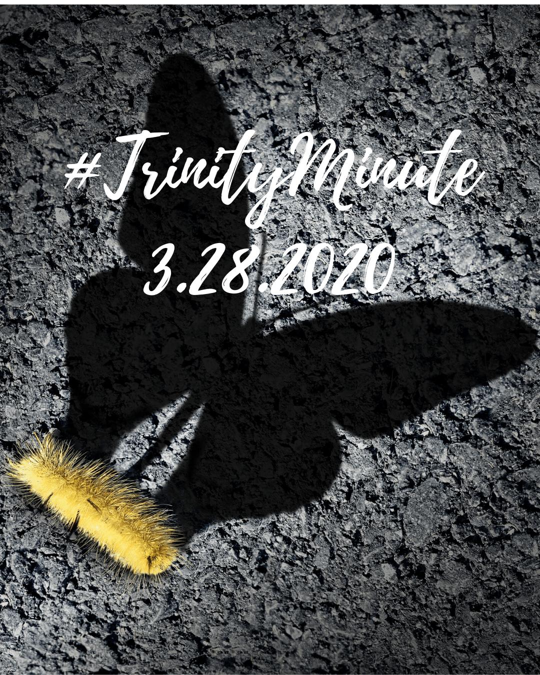 #TrinityMinute 3-28-2020